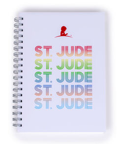 St. Jude Multi-Colored Repeat Journal