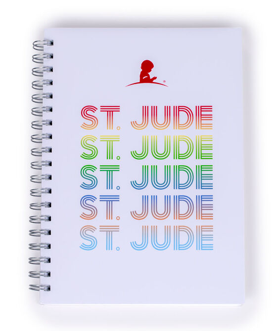 St. Jude Multi-Colored Repeat Notebook