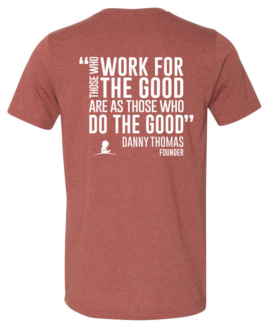 Unisex 'For the Good' Danny Thomas Quote T-Shirt