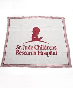 St. Jude Knit Throw Blanket