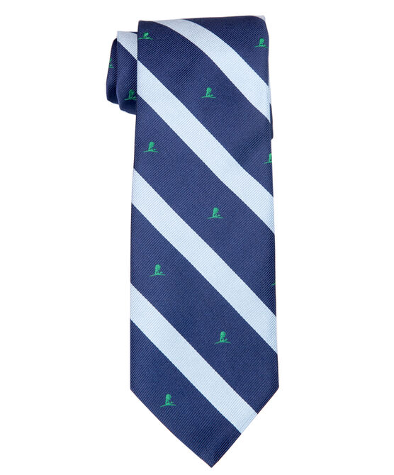 Brooks Brothers Blue and Navy Stripe Tie