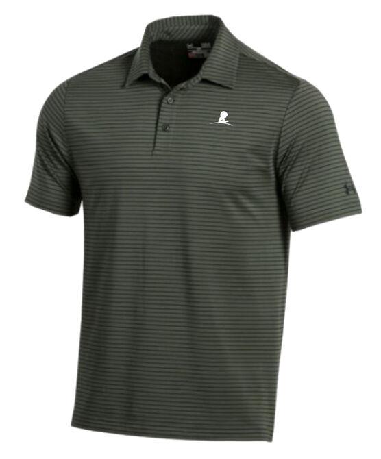 Men's Under Armour Thin Stripe Golf Shirt
