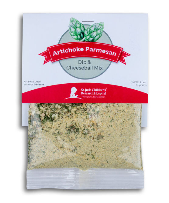 Artichoke Parmesan Dip & Cheeseball Mix