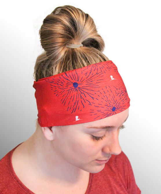 Fireworks Microfiber Headband