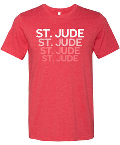 St. Jude Repeat Red TShirt