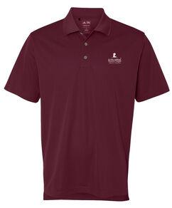Men's Adidas® Burgundy Polo