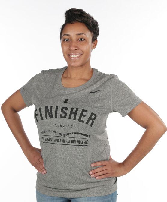 Ladies' 2017 St. Jude Memphis Marathon Finisher Shirt