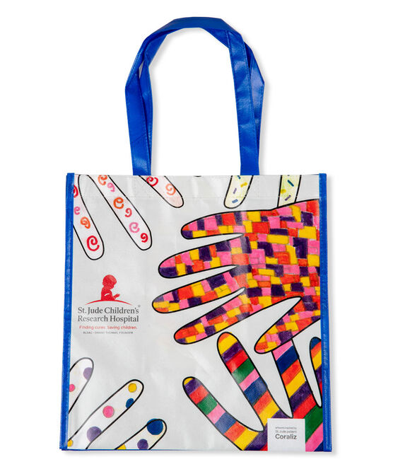 Patient Art Multi Hands Reusable Bag