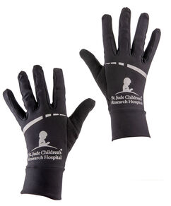 Performance Running Black Gloves LG/XL