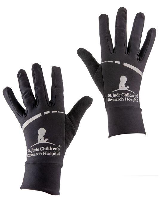 Performance Running Black Gloves LG/XL