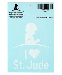 I Love St. Jude Car Decal