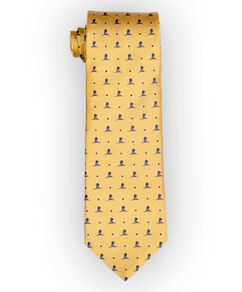 Brooks Brothers® Yellow/Blue Silk Tie