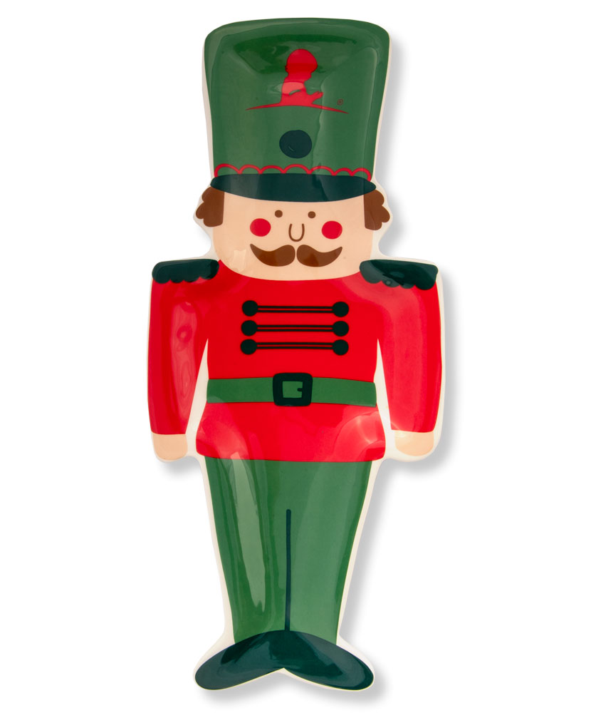 Nutcracker Ceramic Platter