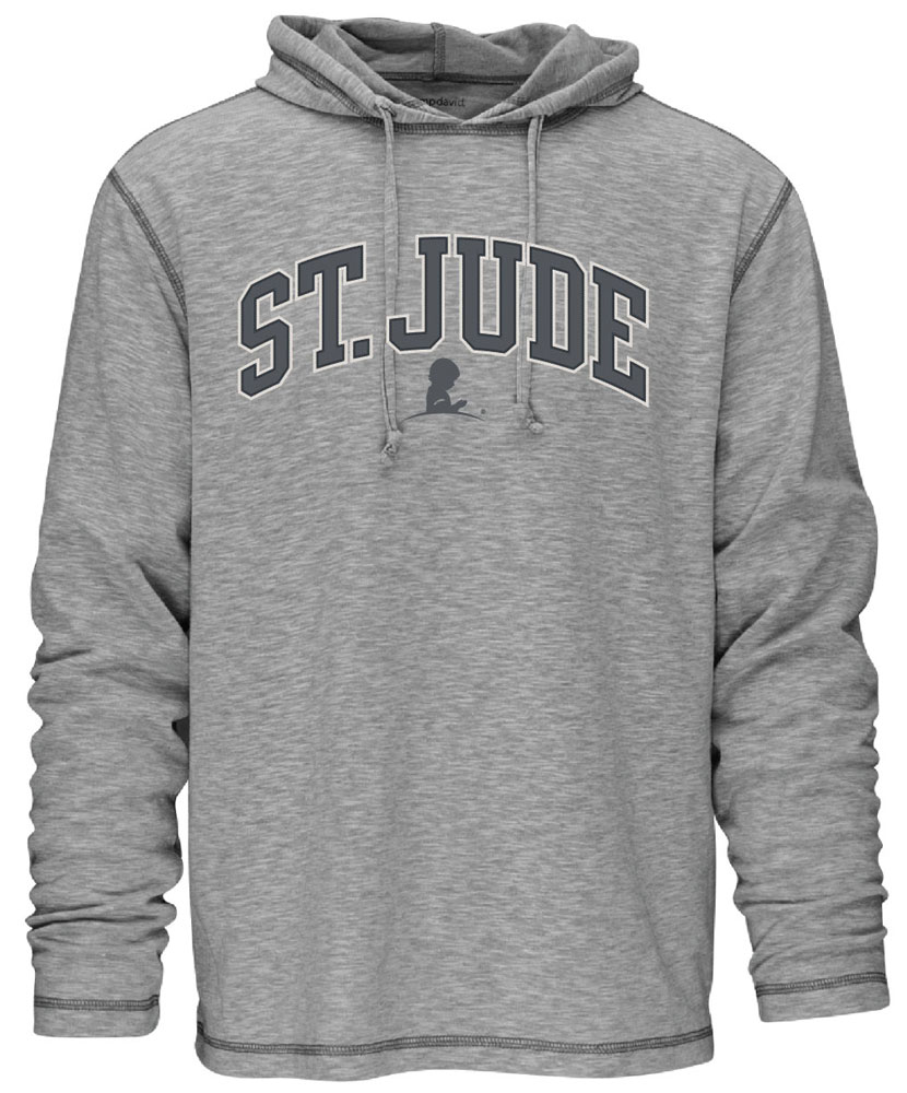 Jersey Pullover Relaxed Fit Hoodie
