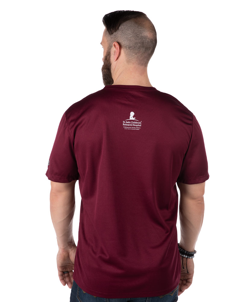 New Balance Maroon Performance T-Shirt