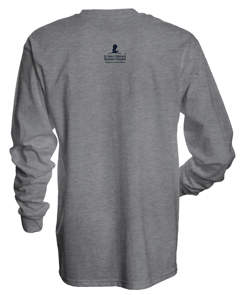 Arched Long-Sleeved T-shirt