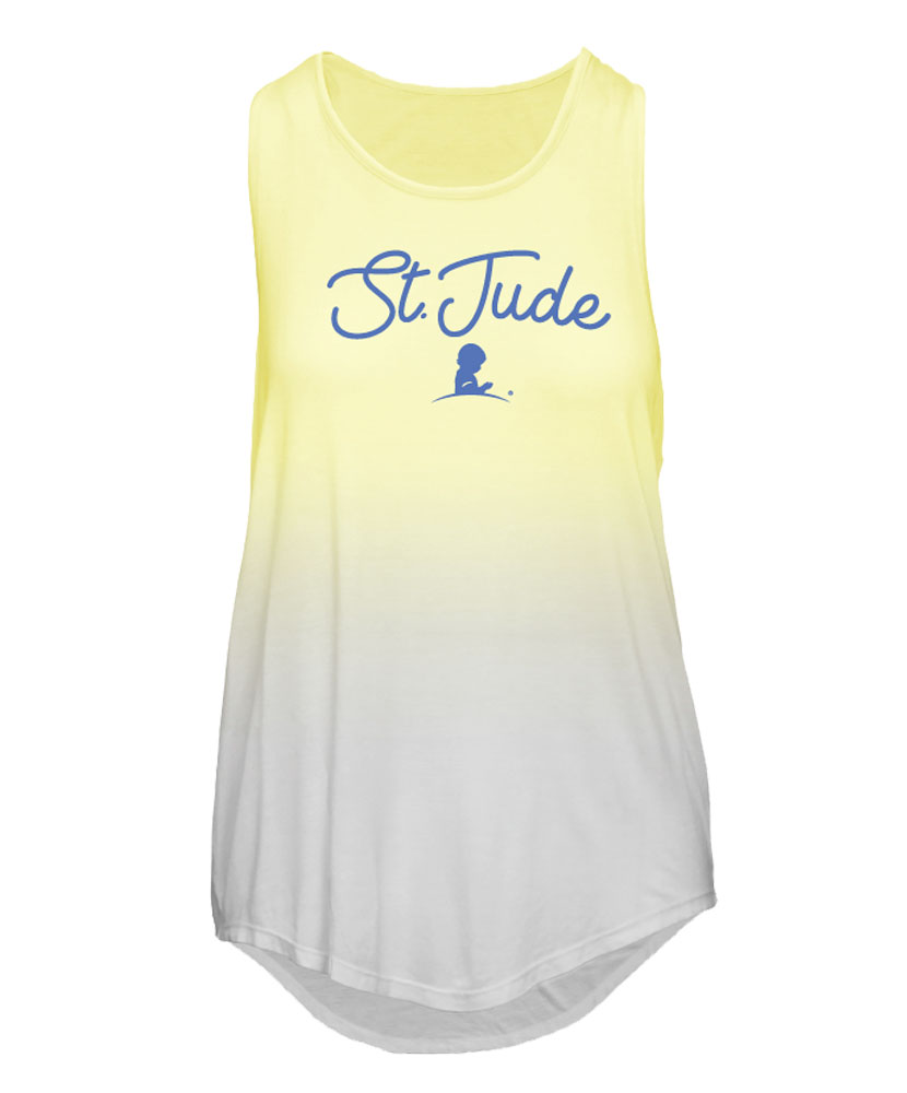 Ombre St. Jude Logo Tank