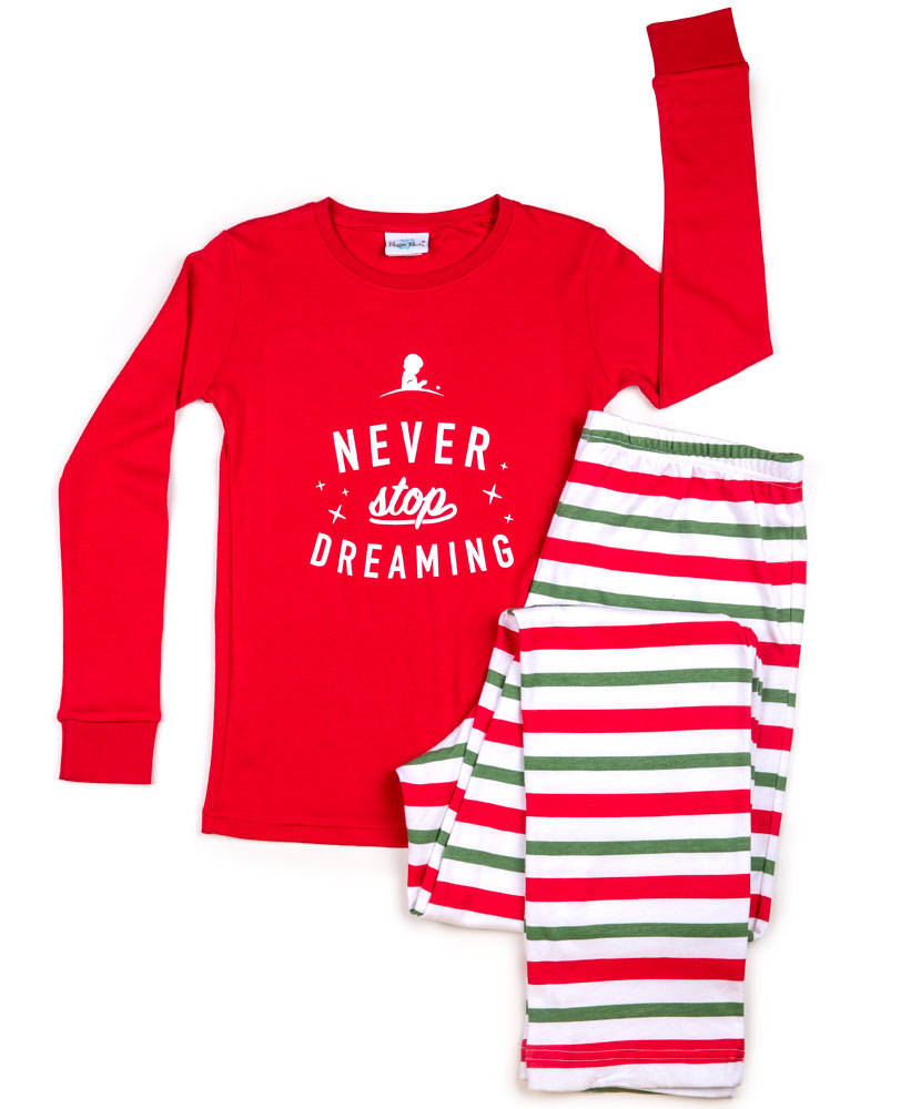 Adult Never Stop Dreaming Pajama Lounge Set