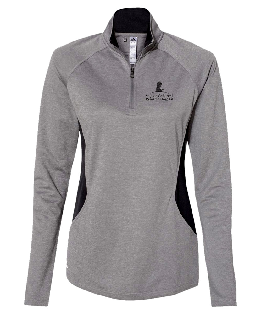 Women's Adidas Quarter-Zip Lightweight Pullover