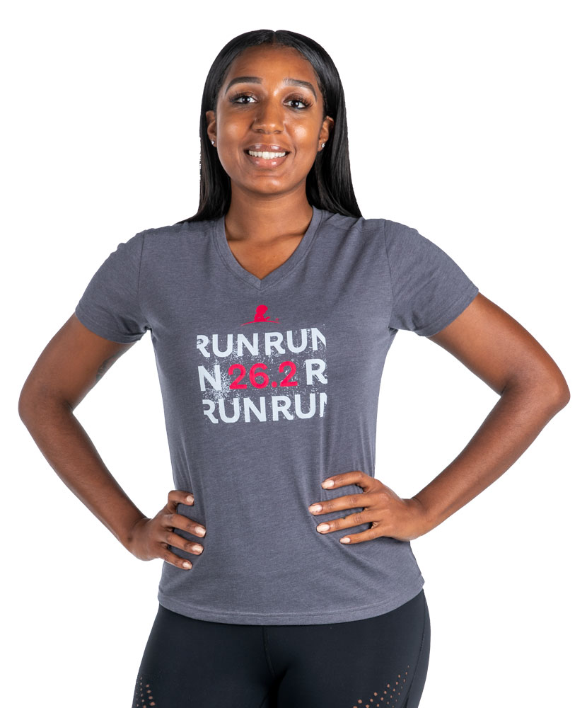 Ladies Run 26.2 Performance Shirt