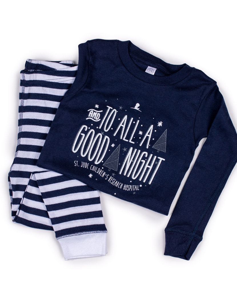 Toddler To All A Good Night Pajama Set