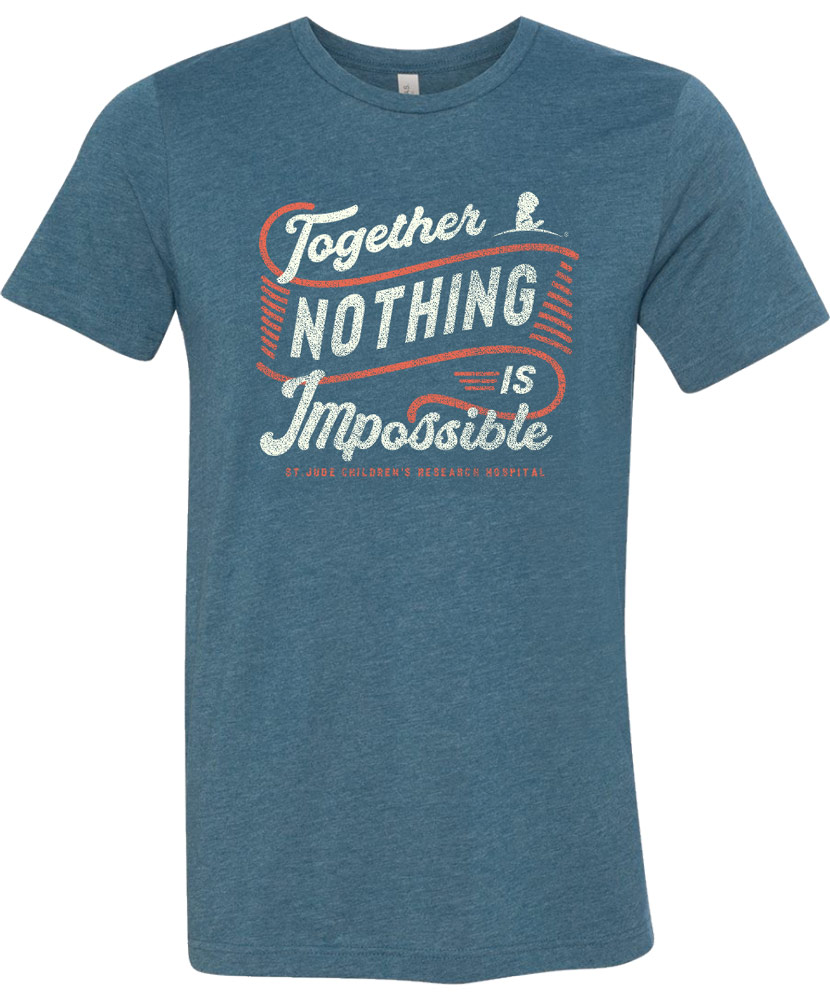 Together Nothing is Impossible Short-Sleeve T-Shirt