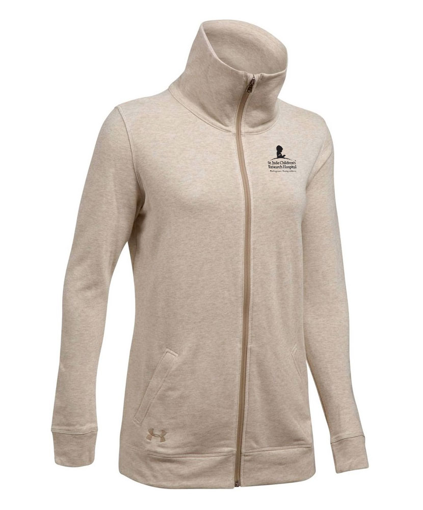 Ladies Under Armour Terry Full-Zip Jacket