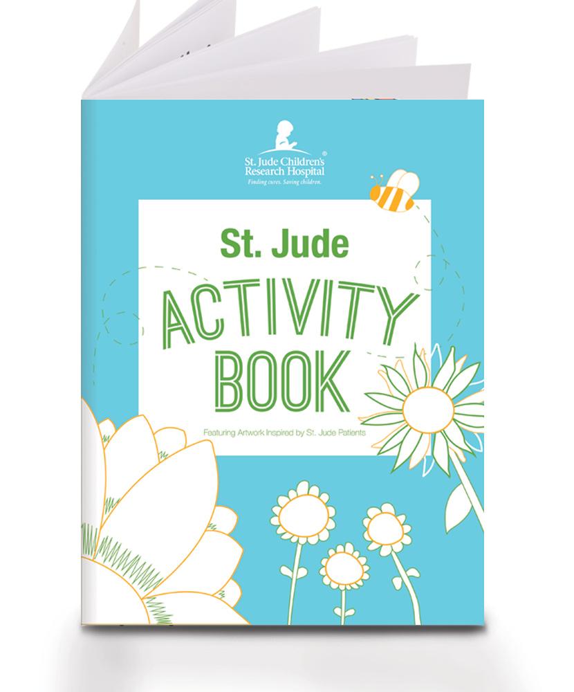 Patient Art Inspired Activity Book - St. Jude Gift Shop