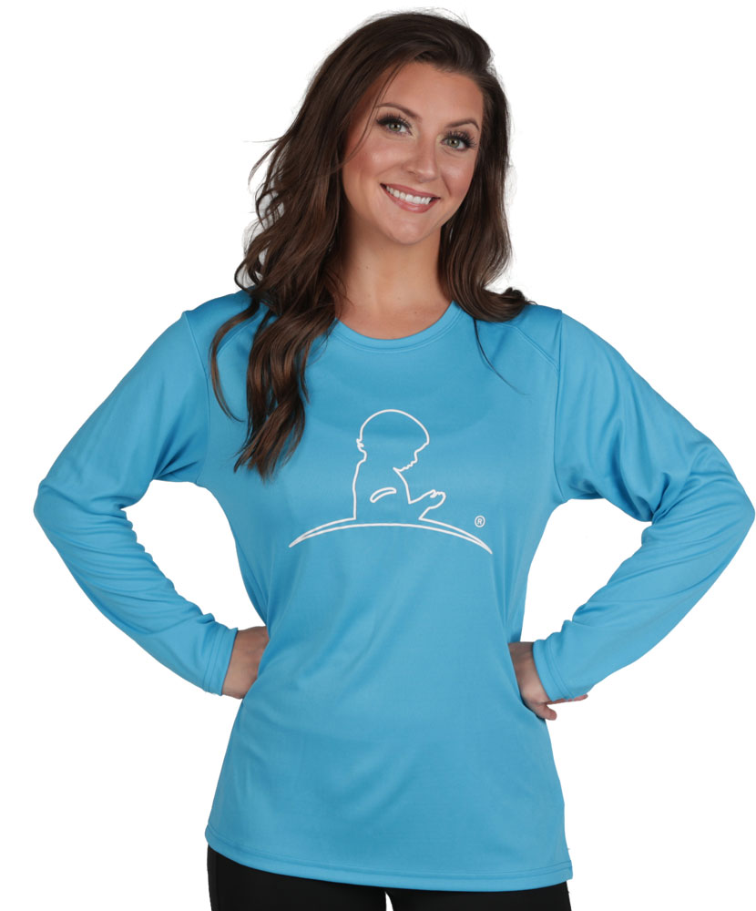 Ladies Long Sleeve Perfomance Shirt