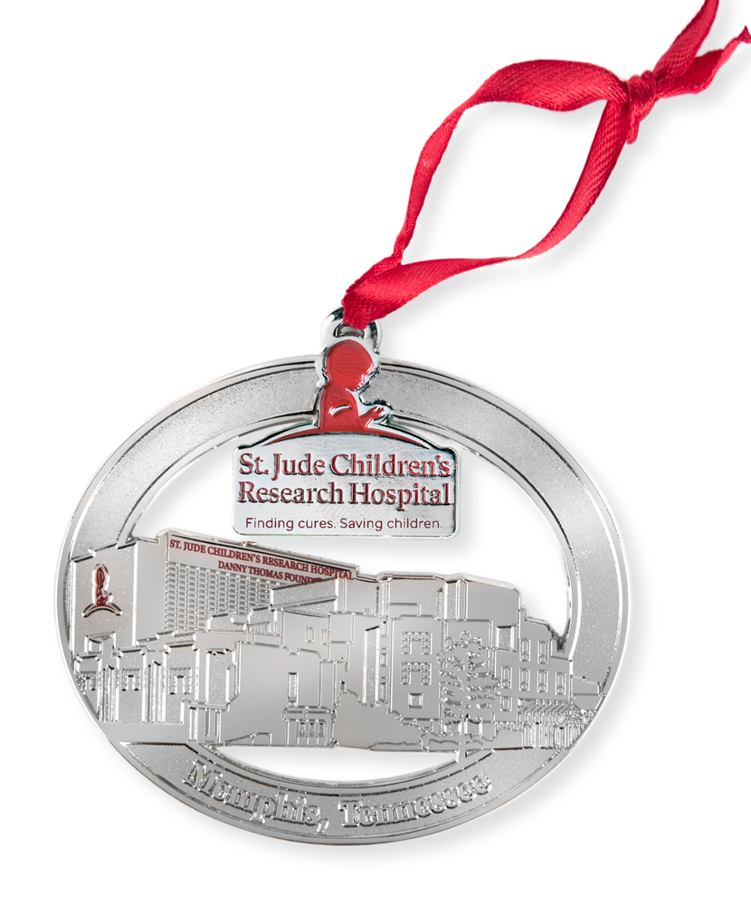 St. Jude Campus Ornament