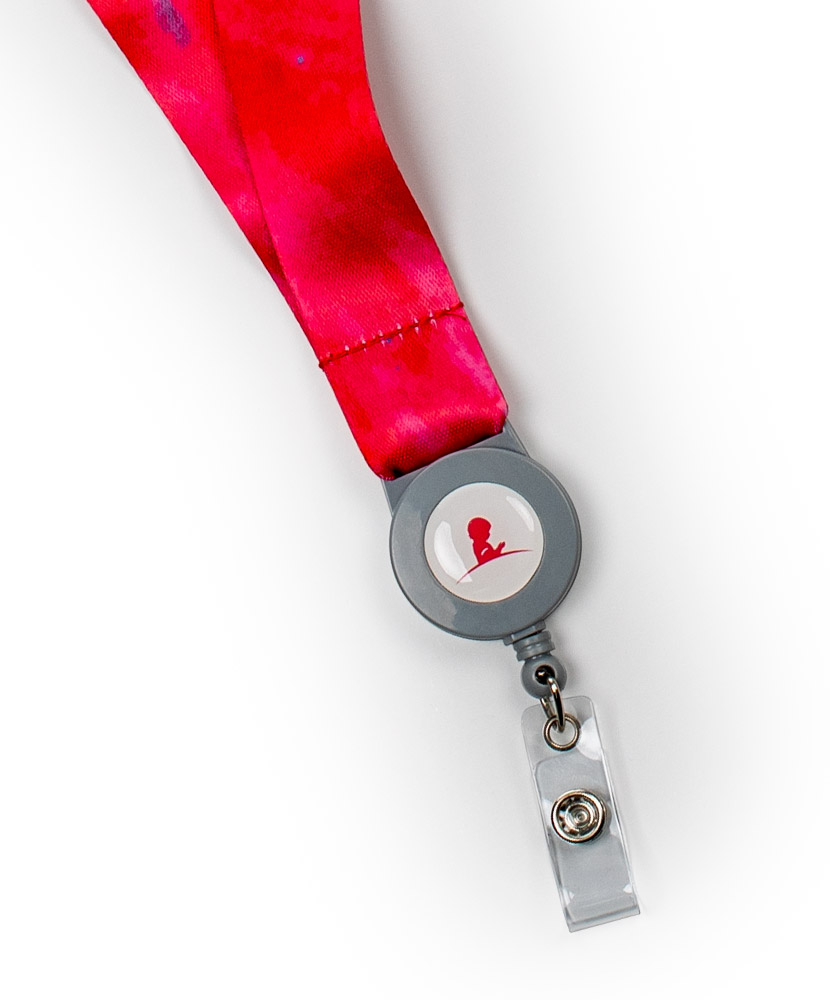 St. Jude Patient Art Retractable Lanyard
