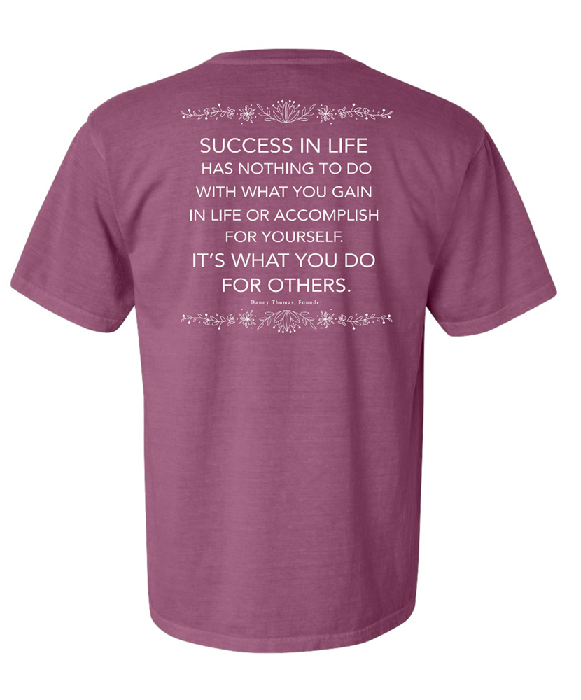 Danny Thomas Success Quote TShirt