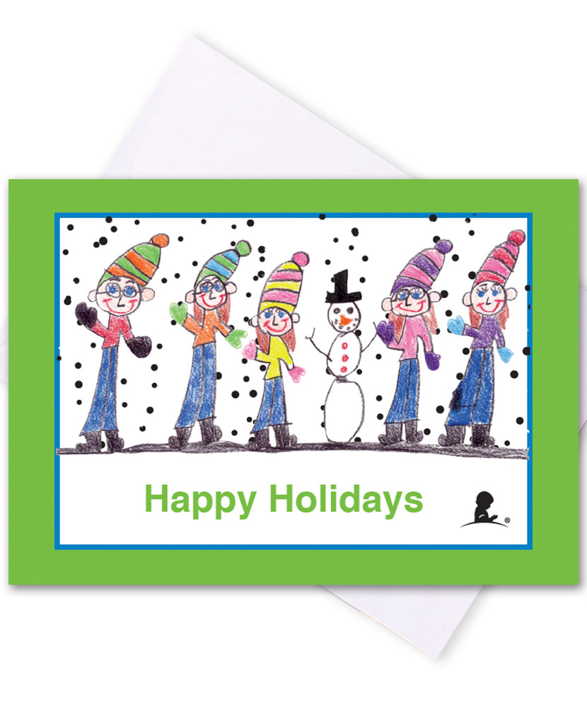 Snow People Honor Cards - Set of 5 Cards