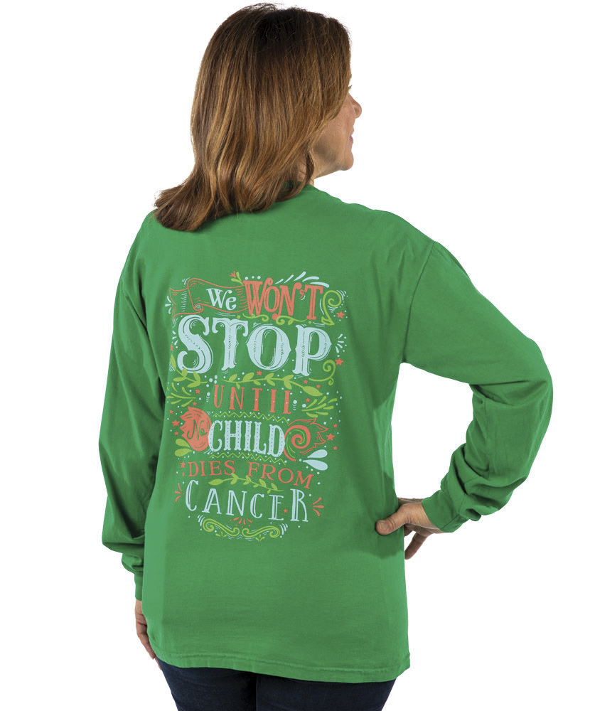 Floral We Won't Stop Long Sleeve Shirt