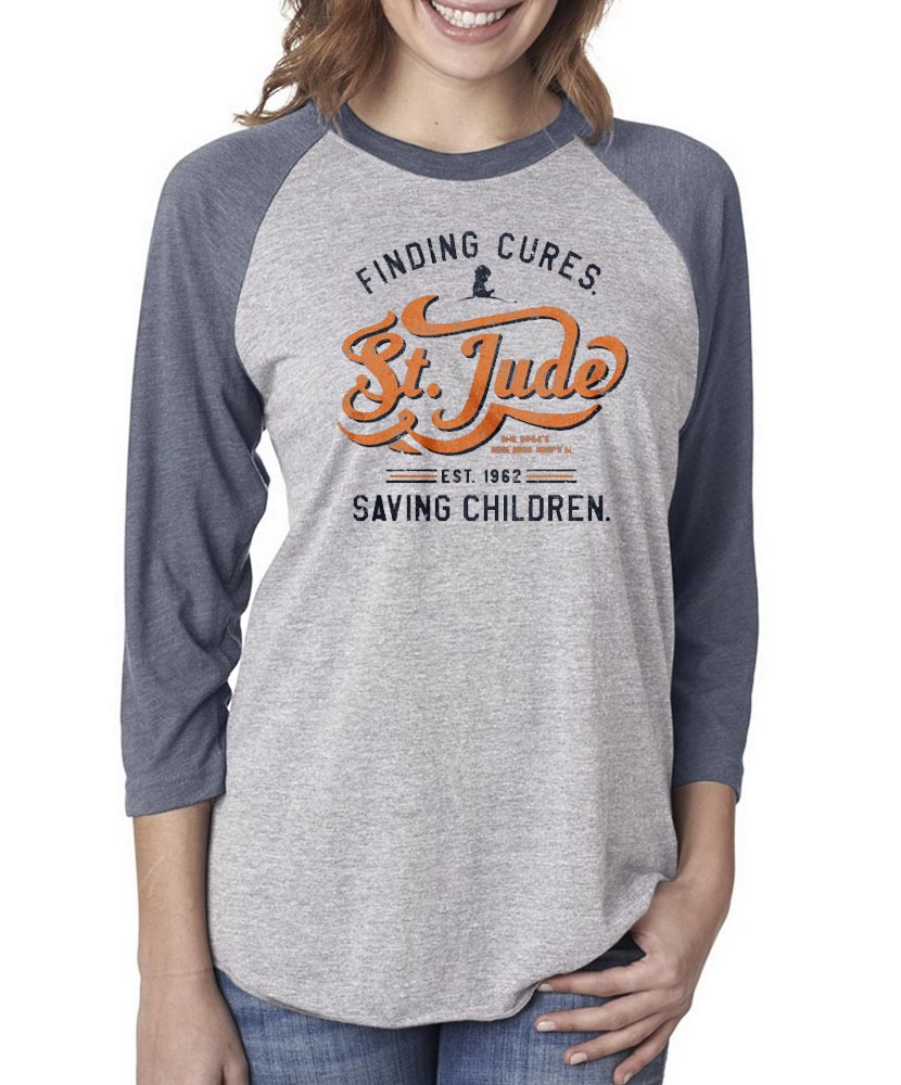 Unisex Finding Cures Baseball Tee