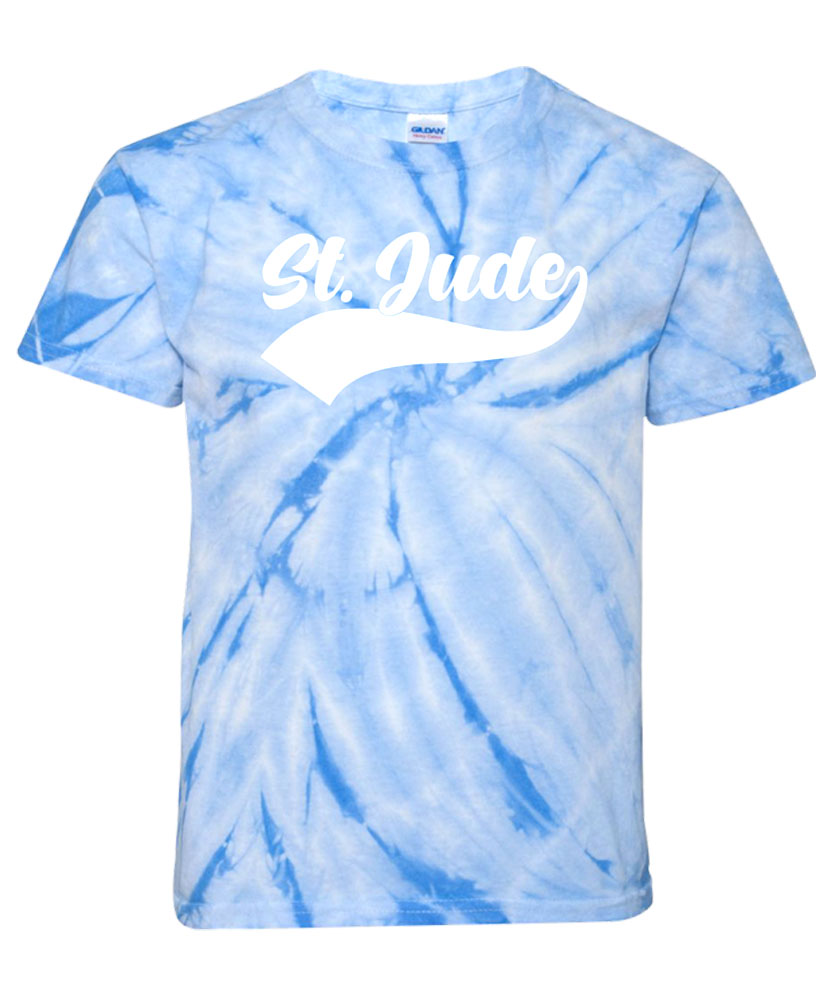 Youth St. Jude Banner Tie-Dye T-Shirt