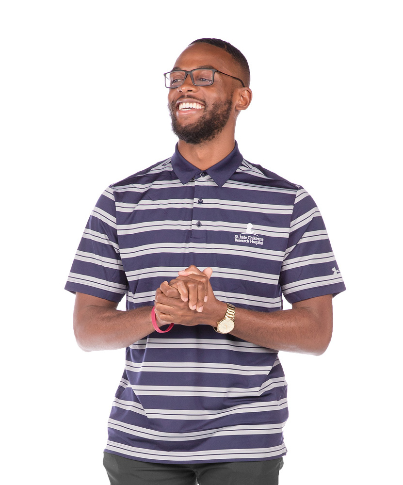 Men's Under Armour Performance Stripe Polo