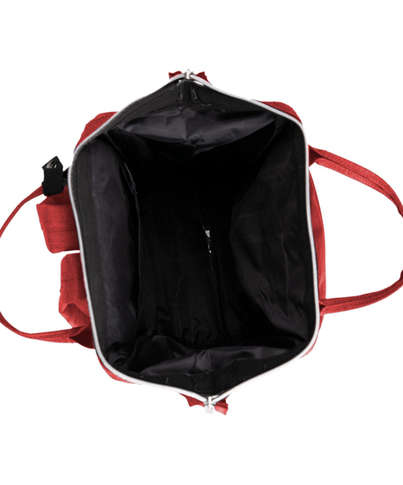 Mini Backpack Red Purse