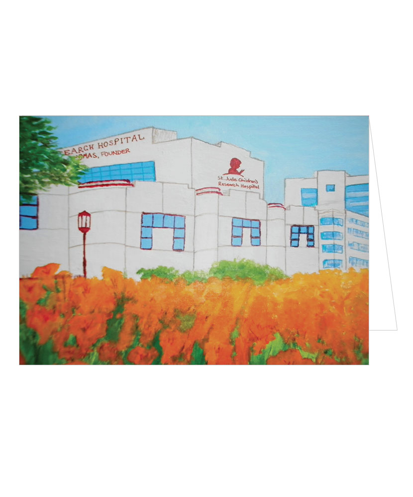 St. Jude Campus Note Cards