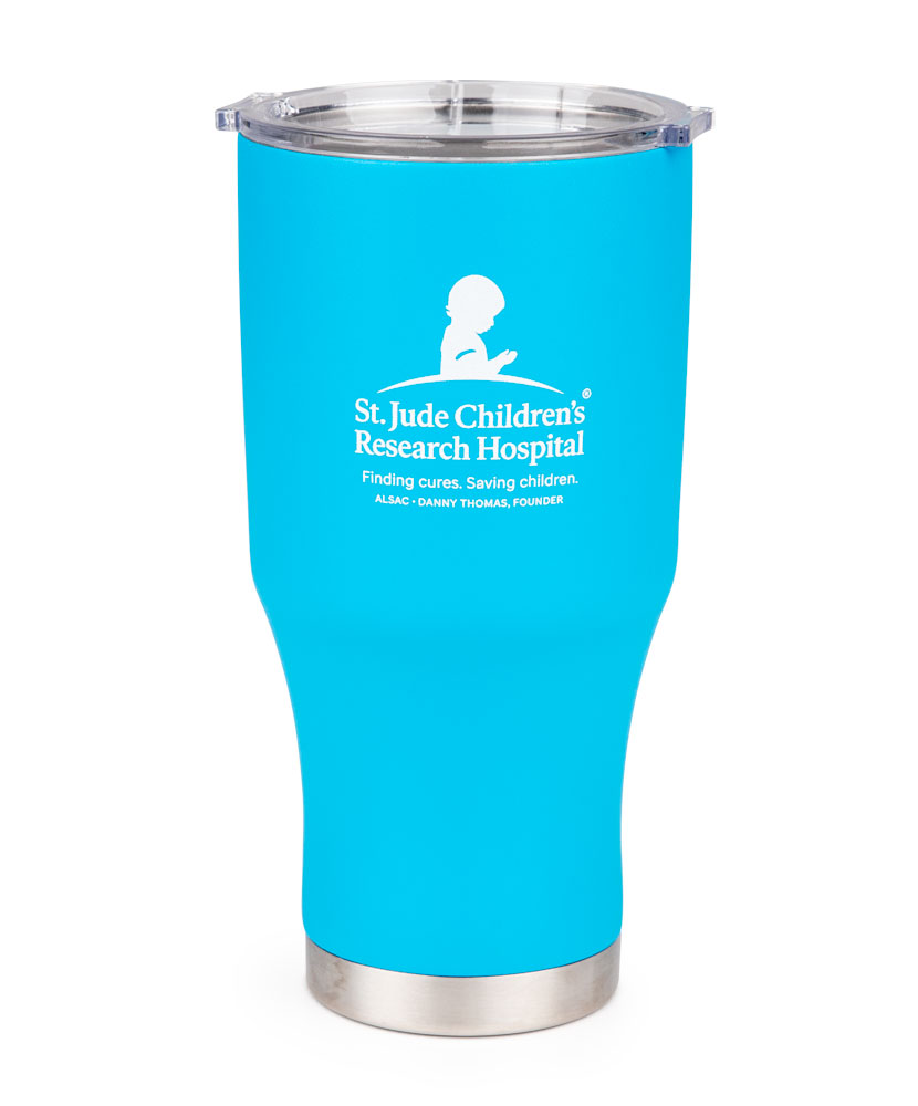 Double Wall 28oz Teal Tumbler