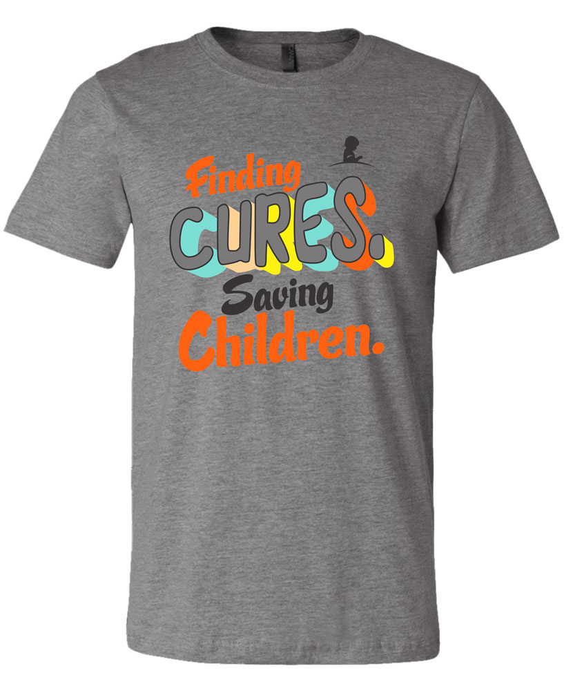 Finding cures. Saving children. T-Shirt