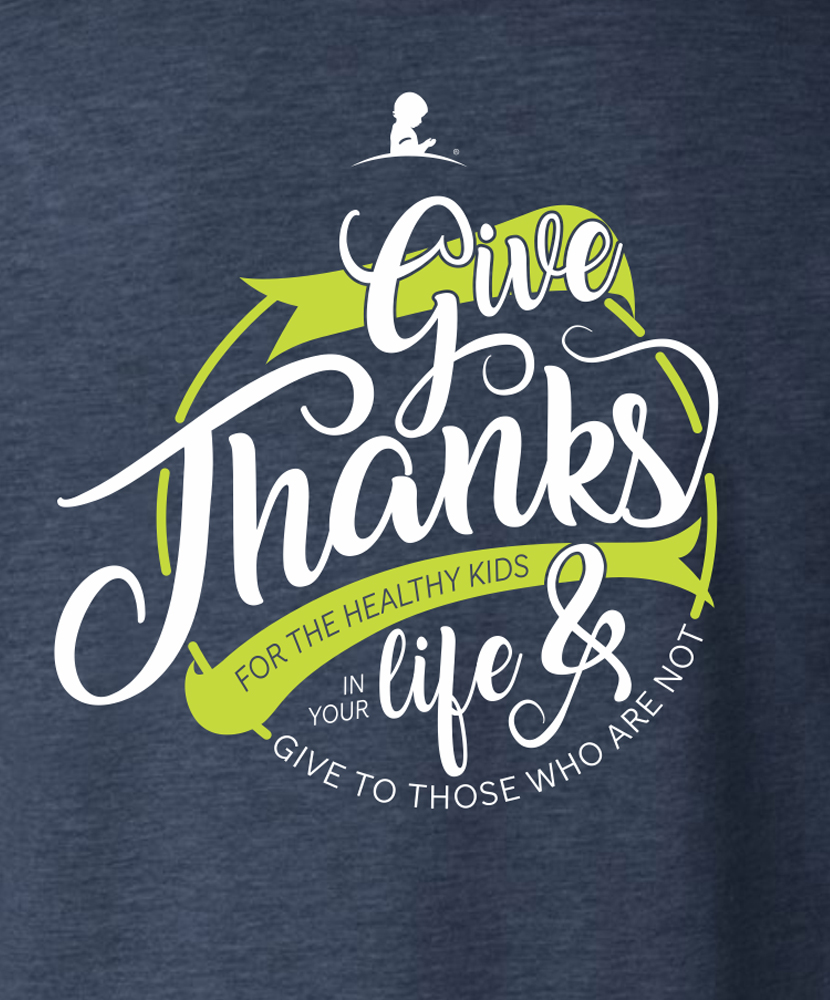 Give Thanks For The Kids Long-Sleeve T-Shirt