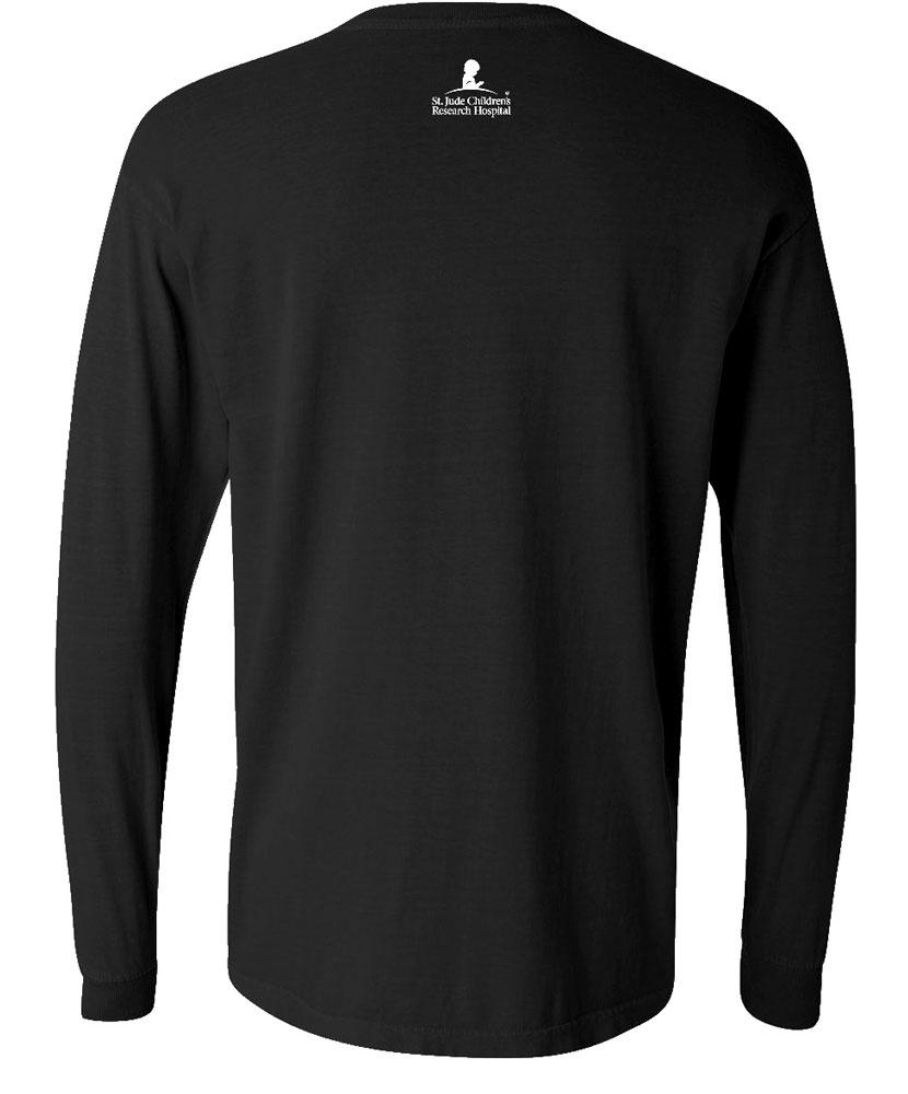 Distressed Design Long Sleeved T Shirt St Jude Gift Shop