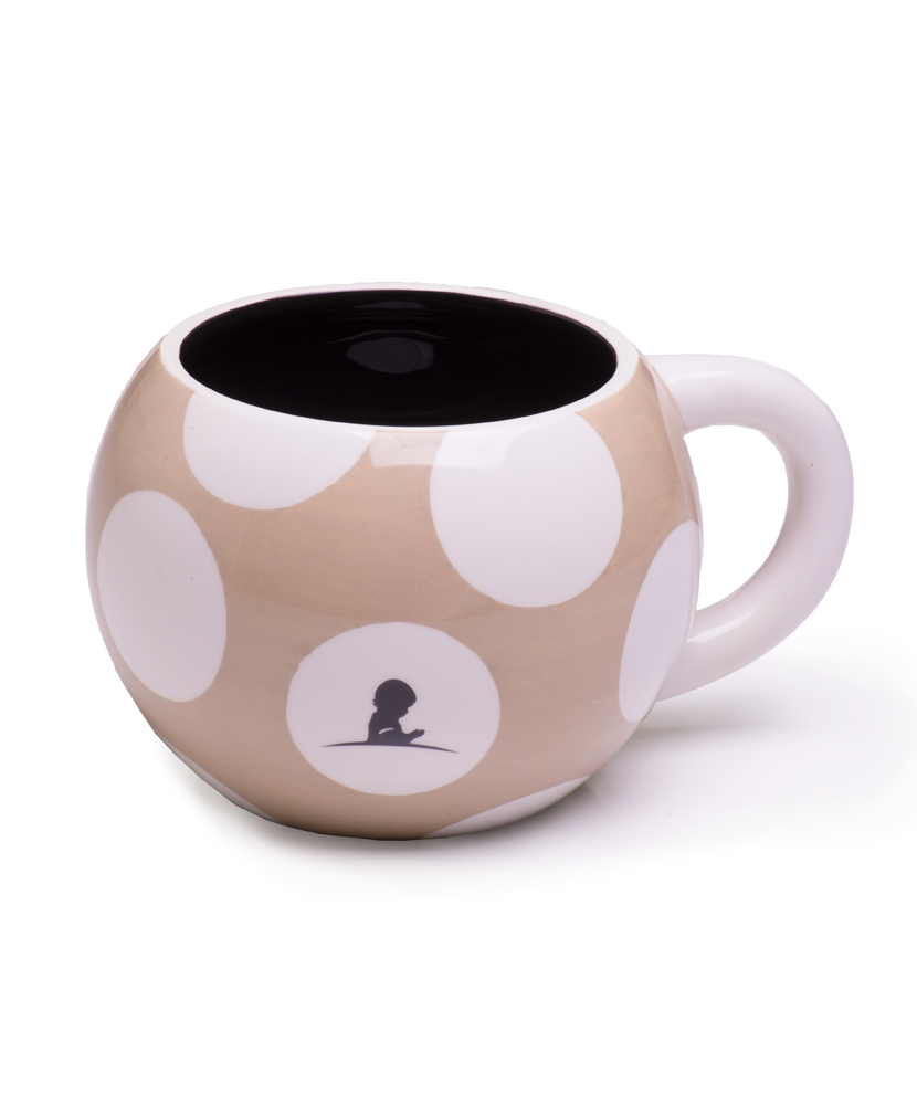 Polka Dot Soup Ceramic Mug