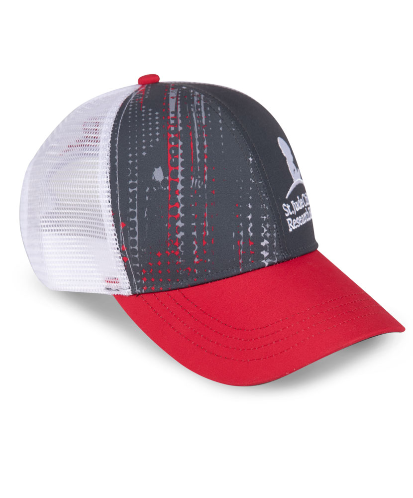 Abstract St. Jude Performance Trucker Hat