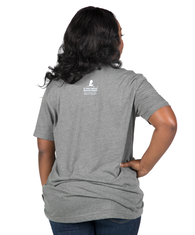 Unisex Proud Supporter T-Shirt - Grey