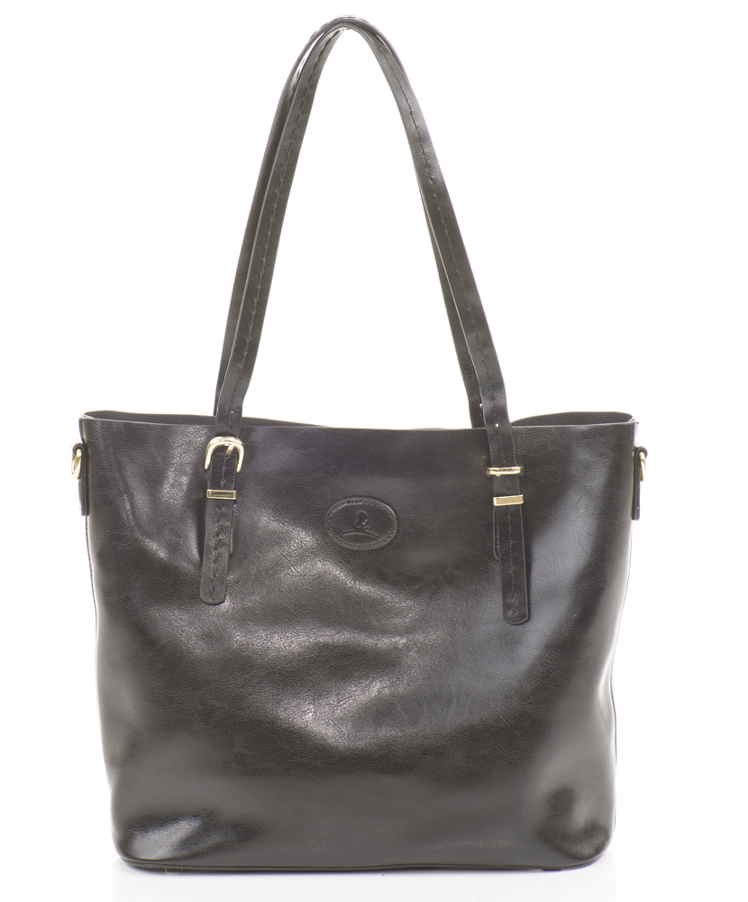 Women's Leather Shoulder Tote
