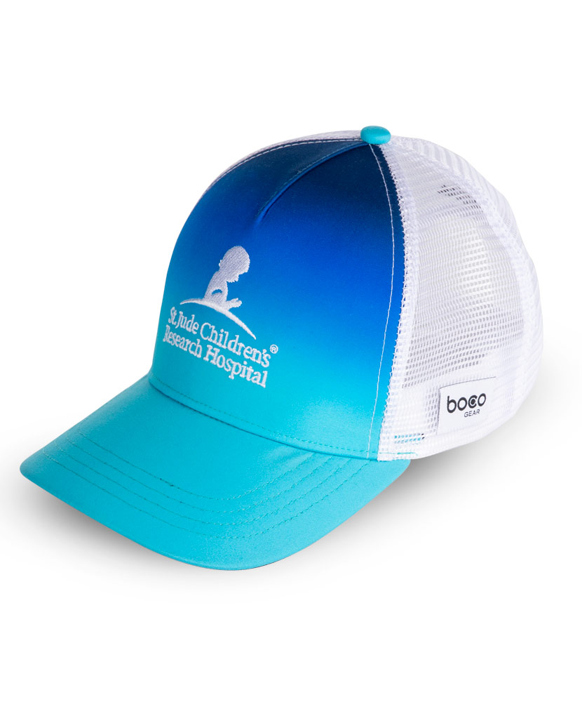 Blue Ombre Performance Trucker Hat