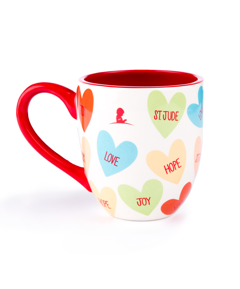 Candy Heart Ceramic Mug
