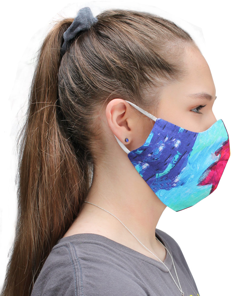 Patient Art Inspired Adult Face Mask